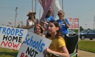 July 2nd, 2011 – protest – Bring our troops and $$ home