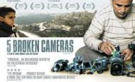 Film Showings: 5 Broken Cameras – Apr. 9th & 25th
