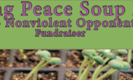 Sprouting Peace – Soup Dinner Fundraiser for KNOW – Friday, March 18th – 6:00 pm