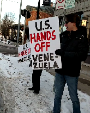 US Hands Off Venezuela!