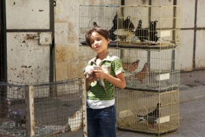 child in Hebron